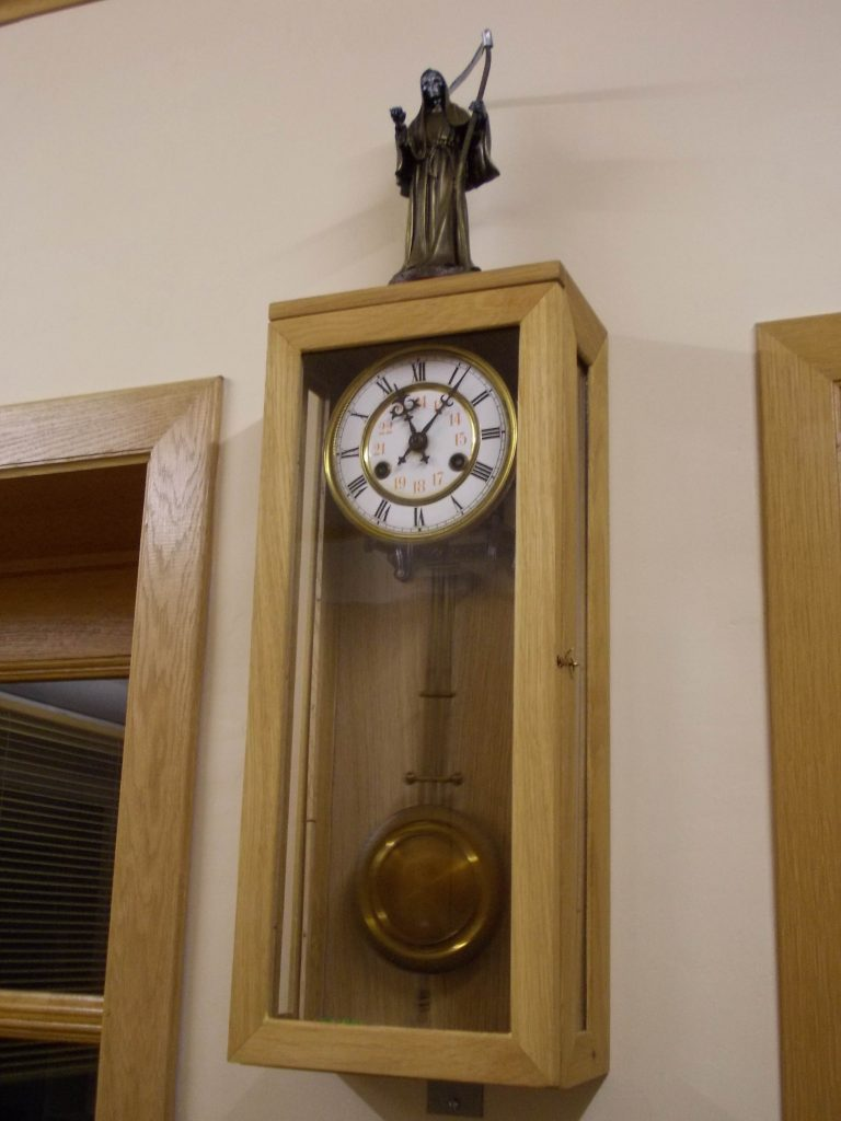 New case for old clockwork