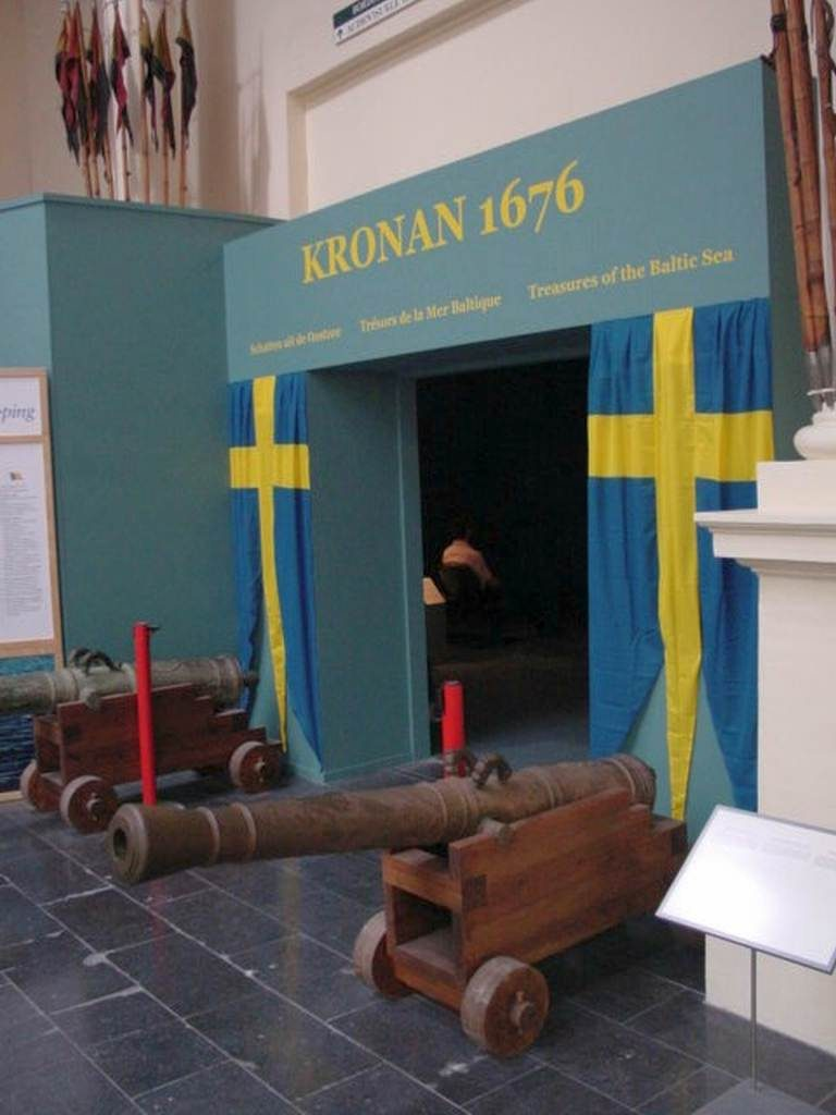 Kronan exhibit