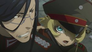 More Youjo Senki: anime uniforms