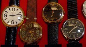 Soviet watch crystal size list