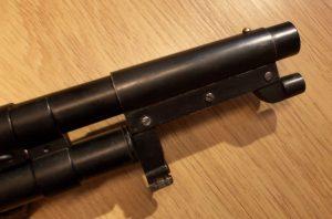 Instant trench gun